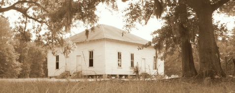 New Ramah Primitive Baptist Church, Ray City, Berrien County, GA was founded in 1913. The church building was dismantled in 2010.
