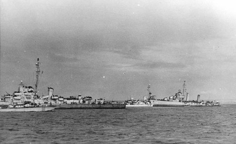USS Rich with the USS Glennon