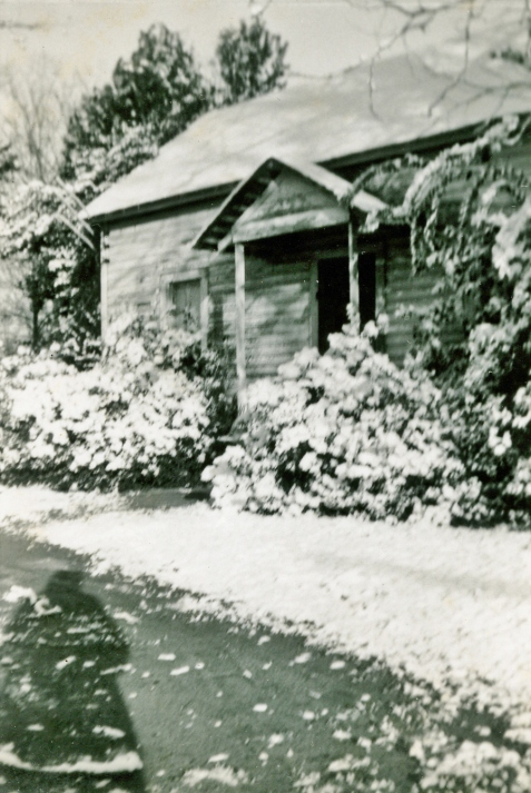 1958 Ray City home of Chloe Gardner Johnson.  Image courtesy of Julie Hutson.