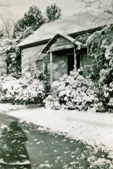 1958 Ray City home of Chloe Gardner Johnson.  Image courtesy of Julie Hutson.
