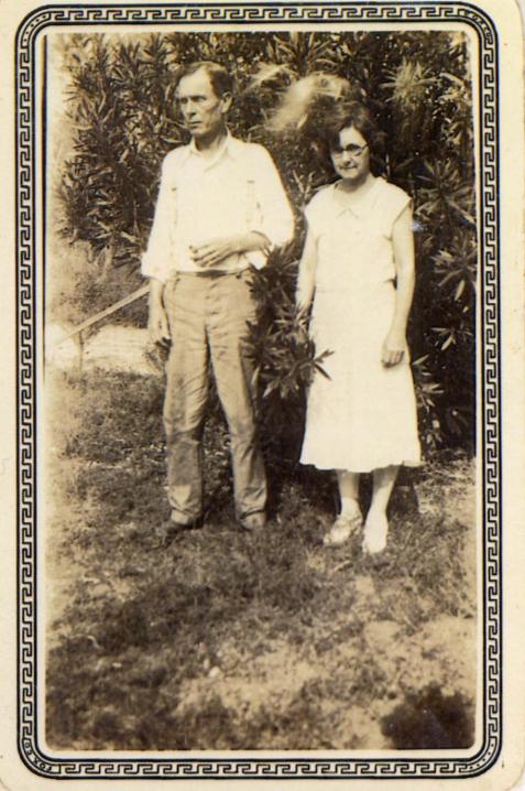 "Chloe Gardner and Joseph Henry Pascal ""Joe"" Johnson. Image courtesy of Julie Hutson."