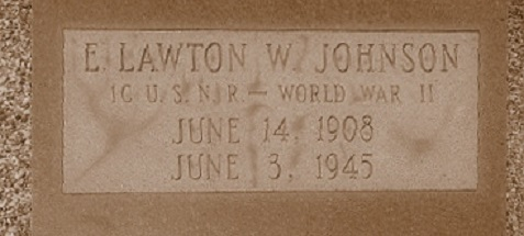 Grave of Lawton Walker Johnson, Ray City, GA