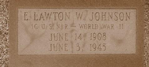 Grave of Lawton Walker Johnson, Ray City, GA