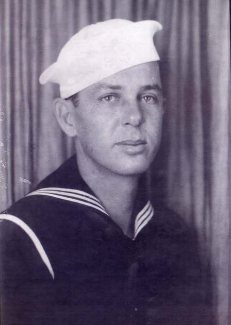 Lawton Walker Johnson, WWII Sailor