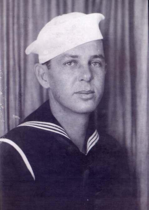 Lawton Walker Johnson, WWII Sailor