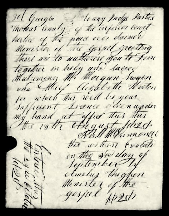 Morz Swain was Innkeeper, Blacksmith, Sheriff & Jailor of