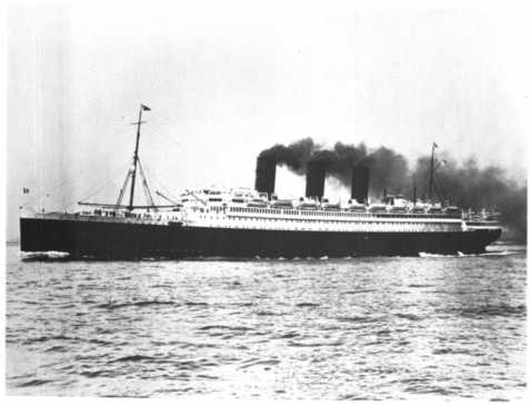 S.S. Paris, once the most luxurious ocean liner in the world.