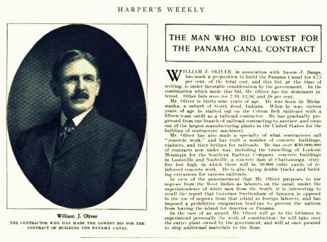 William J. Oliver, Harper's Weekly, Feb 2, 1907