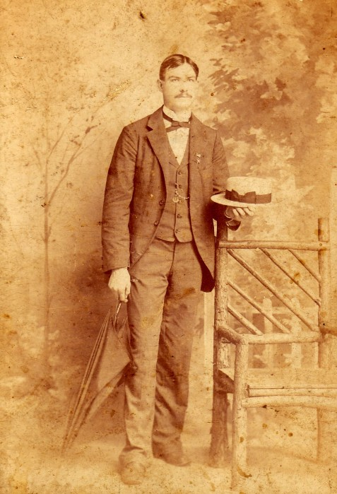 George Hill Folsom as a young man.