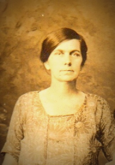 Mattie Louise Harrison, second wife of Elijah Fawcett
