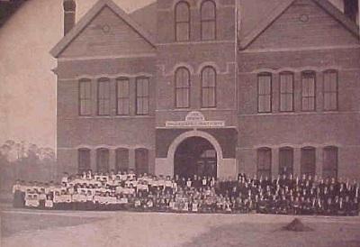 Sparks Collegiate Institute, Adel, GA, circa 1904.