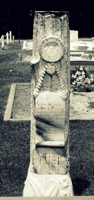 Gravemarker of Jay Sirmans, Beaver Dam Cemetery, Ray City, GA. Died September 20, 1916