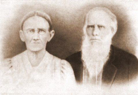 Elizabeth Register and William Patten. Image courtesy of http://berriencountyga.com