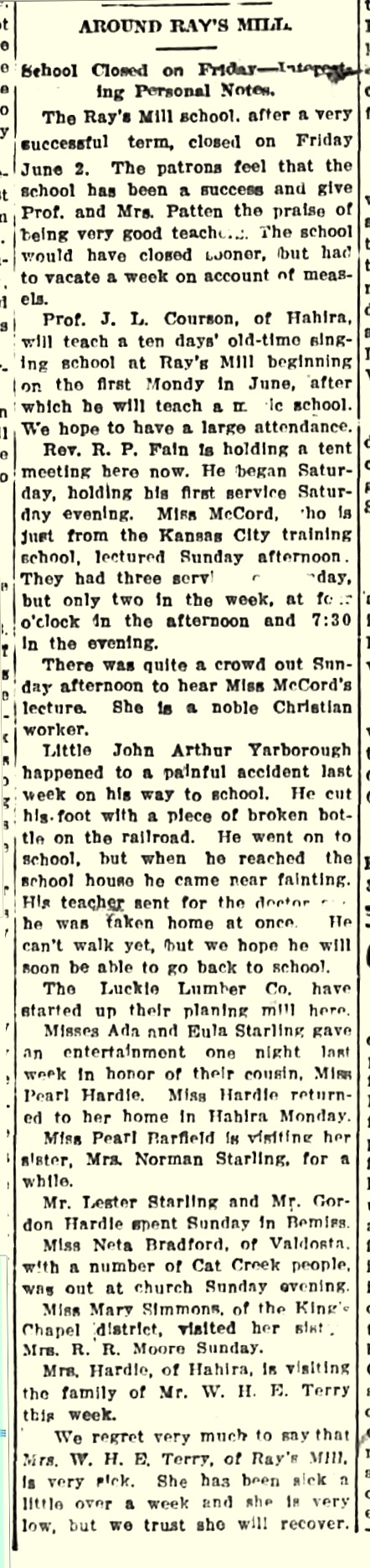 1911-jun-10-valdosta-times-rays-mill
