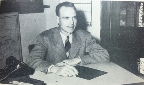Charles Woodrow Schmoe, Principal, Ray City School, 1949-1950