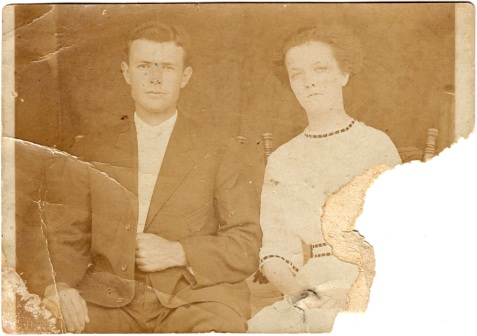 James Randall Johnson and Ruby Texas Knight, Ray City, GA