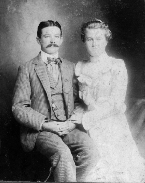 Lyman Franklin Giddens and Essie Parrish Giddens.  L. F. Giddens was elected Mayor of Ray City, GA in 1922.