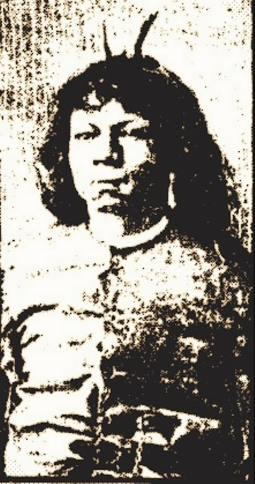 Calvin Byrd was billed as the Horned Man of Central America
