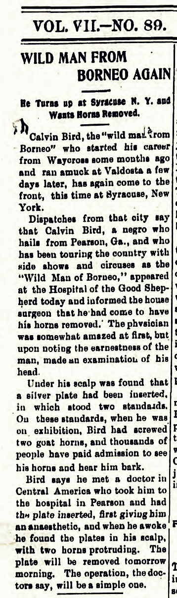 1902-aug-25-wildman-wants-horns removed