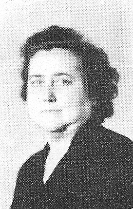 Anna Hawk McClure, wife of W. R. McClure was a math teacher at the Ray City School.