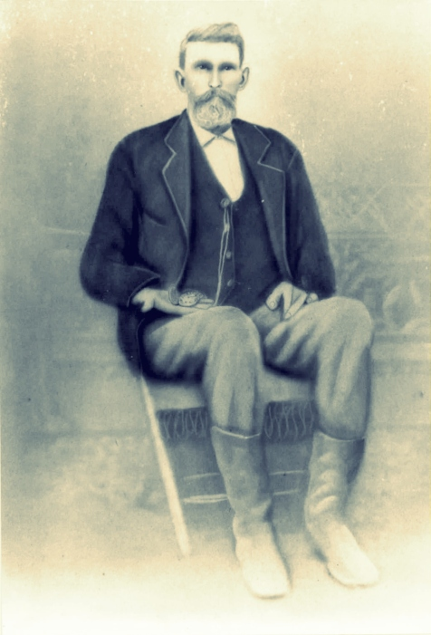 James Murray Sloan came to the Ray's Mill, GA neighborhood in 1871. Image courtesy of www.berriencountyga.com