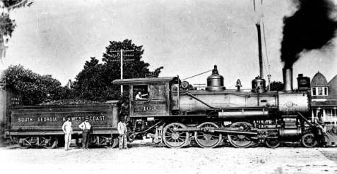 South Georgia & West Coast Railroad. State Archives of Florida, Florida Memory, http://floridamemory.com/items/show/147636