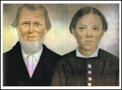 John Webb and Mary Polly Futch.  Image courtesy of Jimmie Webb.