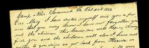 Civil War letters of William Washington Knight