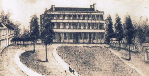 In 1862, the Huguenot Springs Hotel was converted to a Confederate hospital.