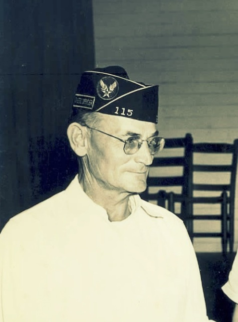 Perry L. Pittman, July 14, 1949, Chaplain of the American Legion, Otranto Post No. 115, Berrien County, GA. Image courtesy of berriencountyga.com