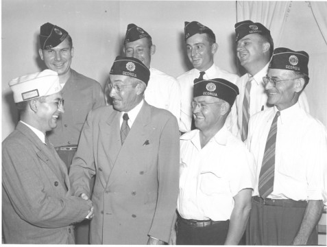 American Legion Officers, July 1947