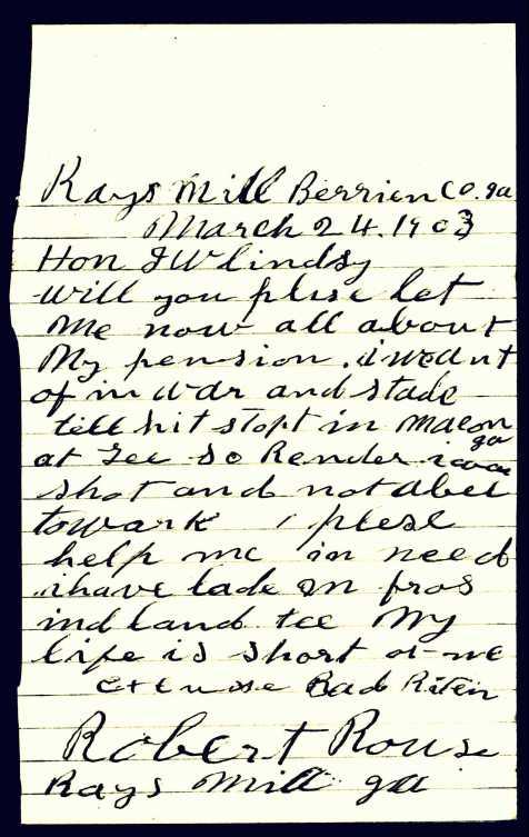 1903-robert-rouse-letter