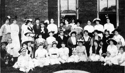 nashville womans club shower 1915