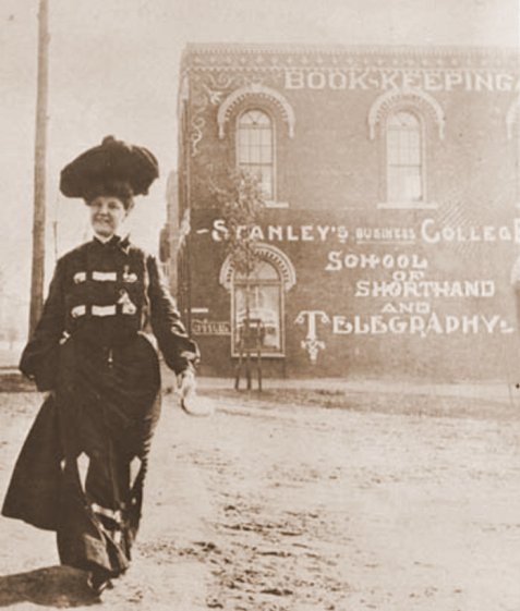 Stanley's Business College, Thomasville, GA, Book-keeping, School of Shorthand and Telegraphy.