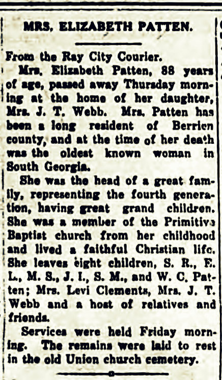 Tifton Gazette, Mar. 10, 1916 -- page 8