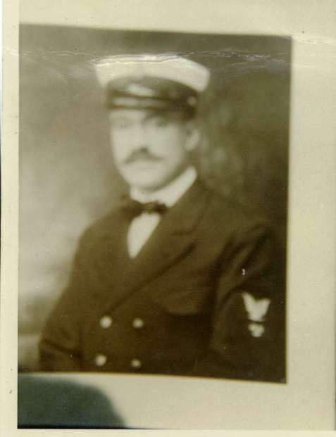 Warrant Officer Owen Carroll, U.S.N., served on the USS Corsair during WWI