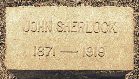 John Sherlock, 1871-1919, Westview Cemetery, Atlanta. GA