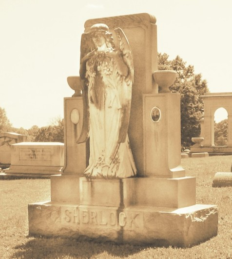 Grave of John Sherlock and Minnie Sherlock, Westview Cemetery, Atlanta, Fulton County, GA.