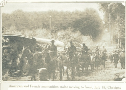 WWI Ammunition Train, July 18, 1918
