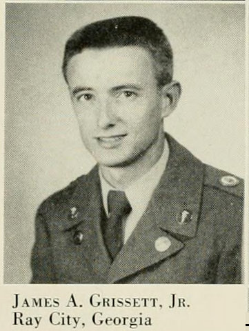 James A. Grissett, 1953,  Corps of Cadets, North Georgia College