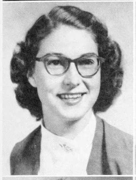 Diane Sizemore, 1952, Georgia Teachers College, Statesboro, GA