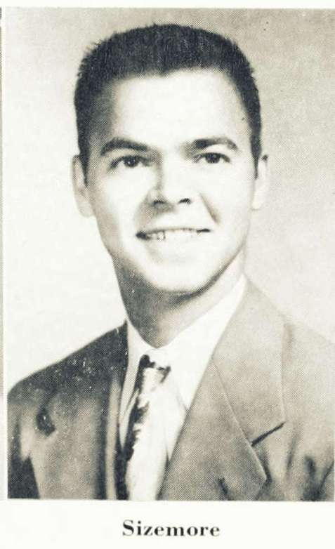 Joe Sizemore, 1952, Georgia Teachers College, Statesboro, GA