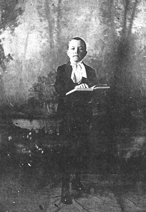 "Fondren Willie Mitchell Shaw, most commonly known as F.W.M. ""Preacher"" Shaw, son of Jesse Shelby ""Dock"" Shaw and Susie Bullard Shaw. ""Preacher"" also served as a Berrien County Commissioner. This photo was most likely what prompted his life-long nickname.  Courtesy of www.berriencountyga.com"