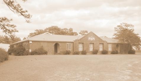 Mystic Public School, constructed 1928