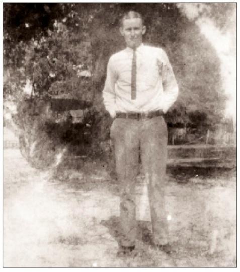 Preacher Shaw, circa 1926. Image courtesy of Bryan Shaw.