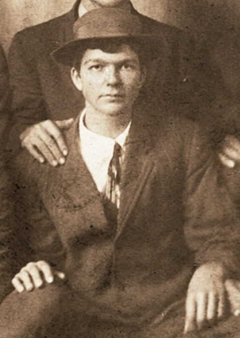 Virgil Griner, circa 1912-1915.  Image detail courtesy of www.berriencountyga.com
