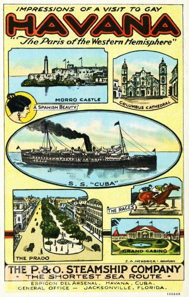 Havana excursion SS Cuba