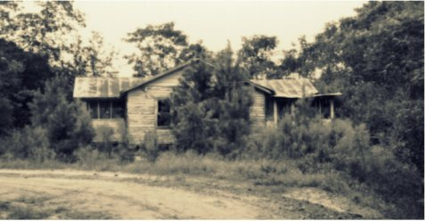 Farm Home of Matthew Hodge Albritton,  Lois, GA near Ray City