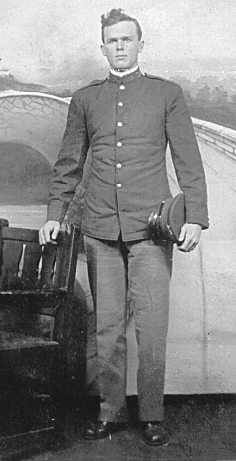 Rossie O. Knight, soldier. Image courtesy of Bryan Shaw and the Berrien Historical Foundation www.berriencountyga.com