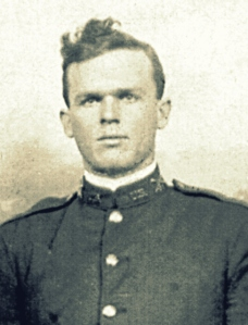 Rossie O. Knight as a young Soldier. Born August 28, 1892, Rossie O. Knight grew up in Ray City, GA.